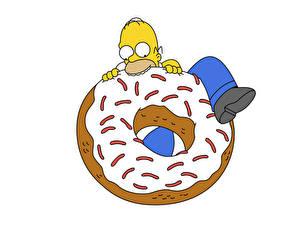 Fotos Simpsons Donut Zuckerguss Animationsfilm