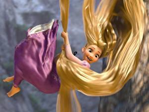 Hintergrundbilder Rapunzel – Neu verföhnt Haar