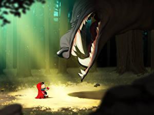 Fotos Eckzahn  Zeichentrickfilm