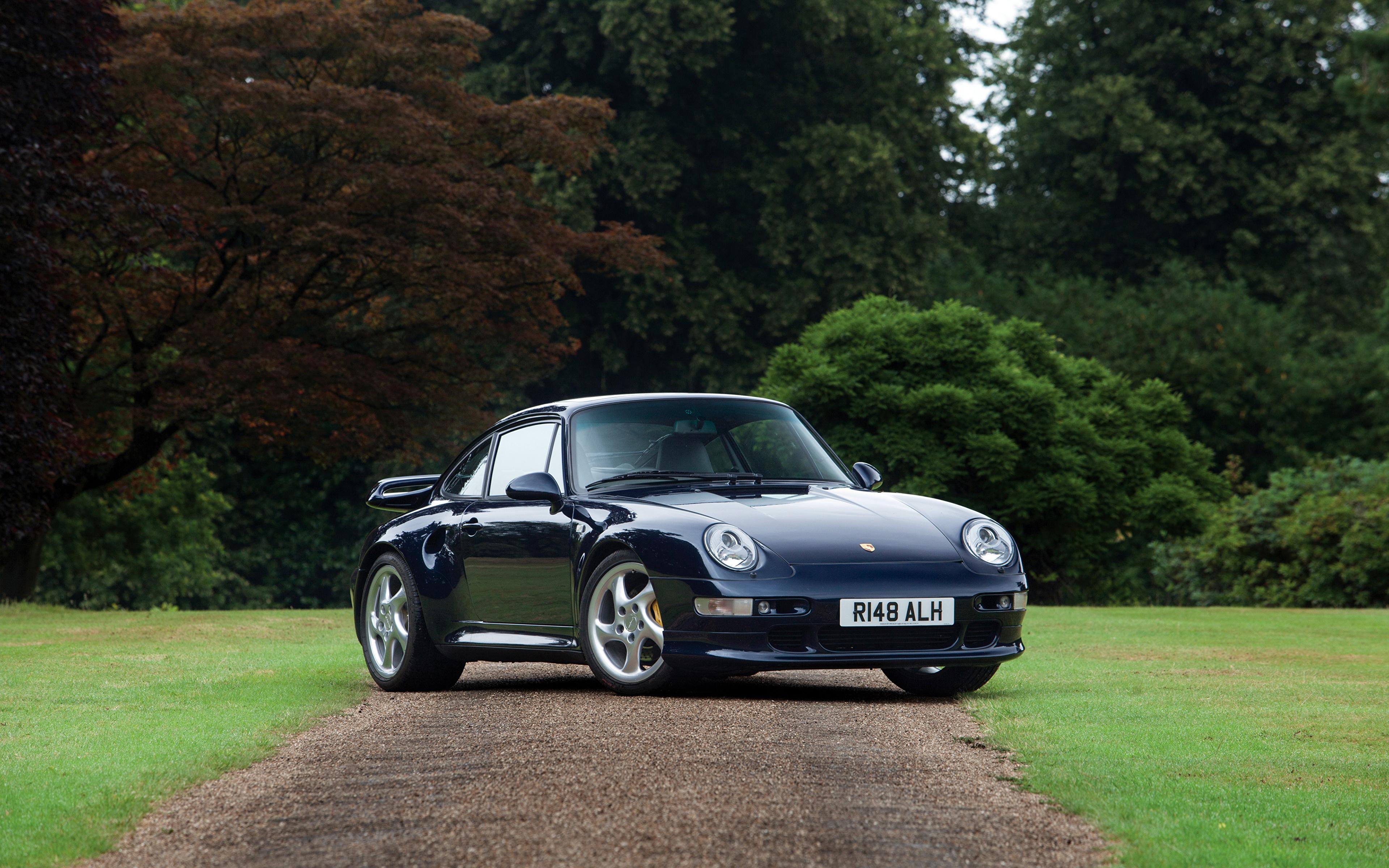 Image Porsche 1997 911 Turbo S Coupe Uk Spec 993 Blue Cars 3840x2400
