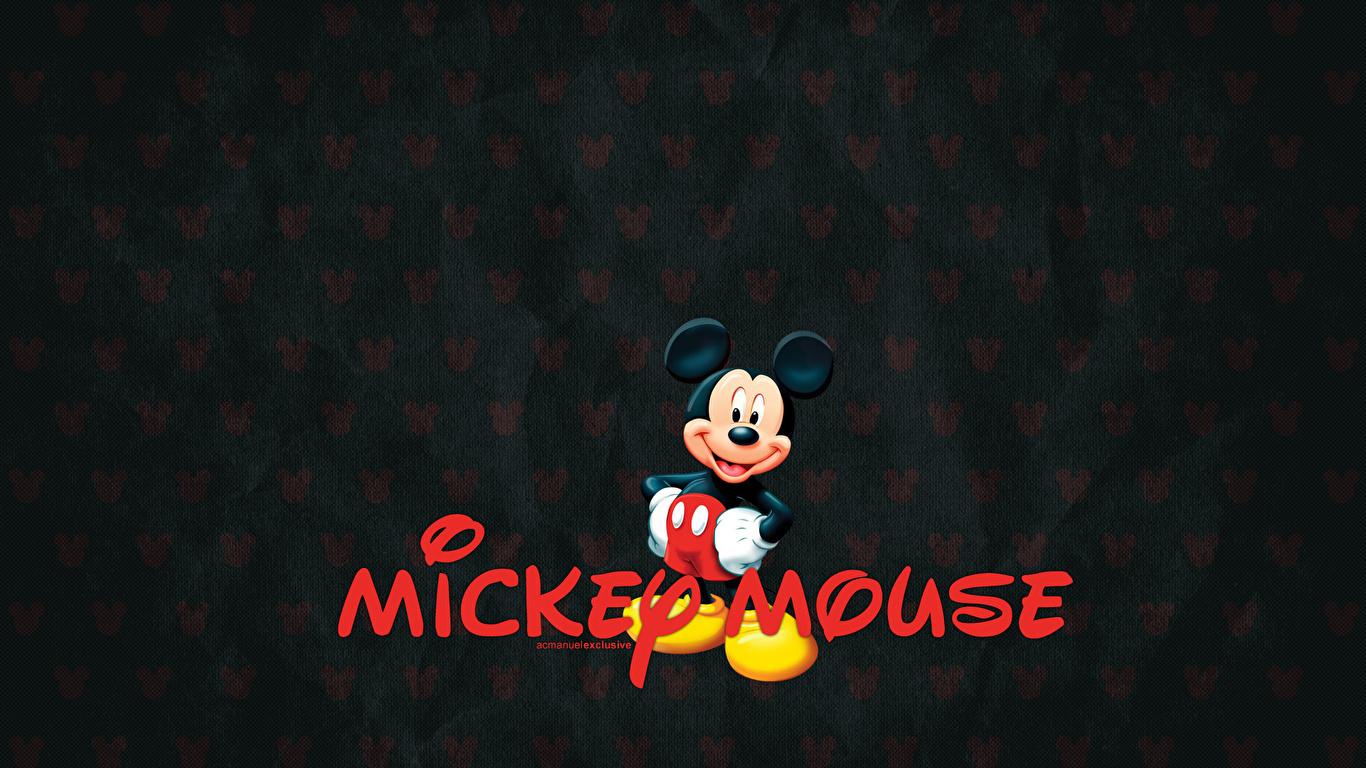 壁紙 1366x768 ディズニー ミッキーマウス 漫画 ダウンロード 写真