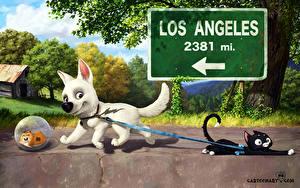 Bilder Disney Bolt Animationsfilm
