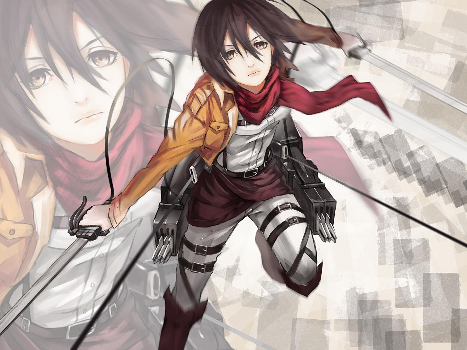 Images Attack On Titan Warrior Mikasa Ackerman Girls Anime