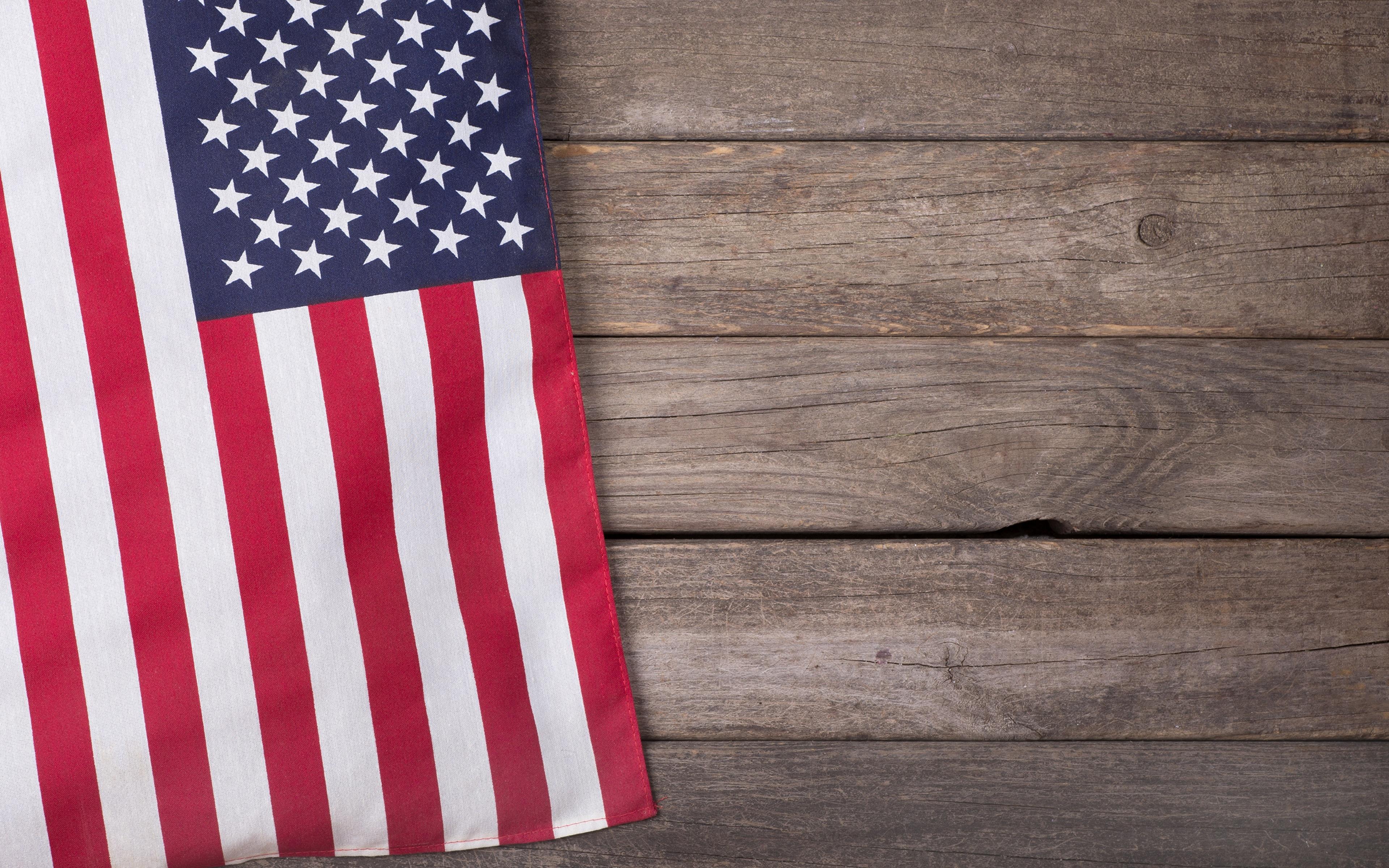 Sfondi stati uniti Bandiera Tavole 3840x2400 USA