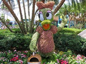 Hintergrundbilder Viel Frankreich Park Walt Disney Blumen