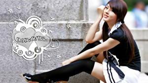 Bilder Asiaten Rock Mädchens