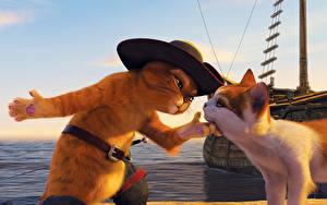 Hintergrundbilder Der gestiefelte Kater 2011 Zeichentrickfilm