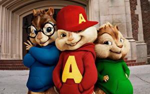 Hintergrundbilder Alvin und die Chipmunks Animationsfilm