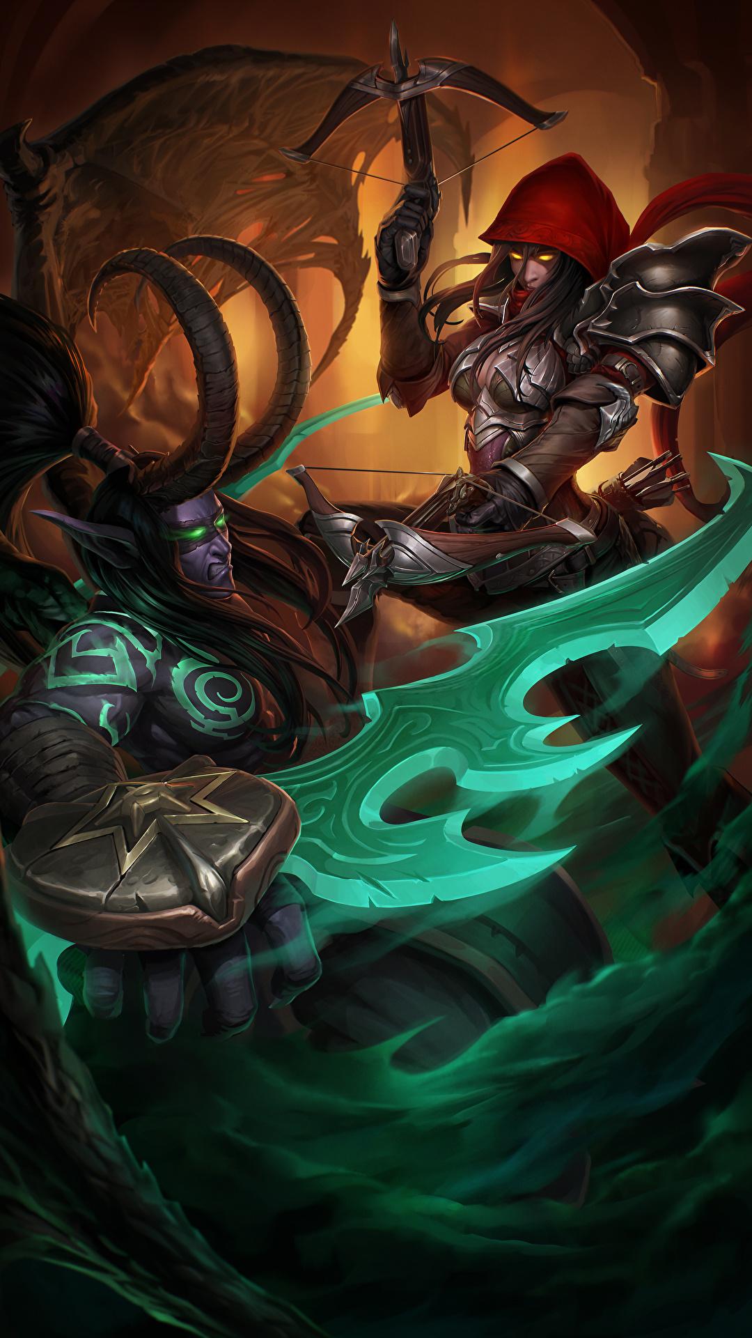 Desktop Wallpapers Diablo World Of Warcraft Heroes Of The 1080x1920