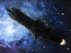 Wallpaper Technics Fantasy Ships Starship Fantasy Space