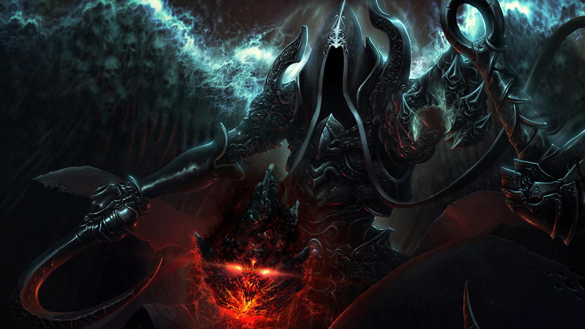 Image Diablo 3 Warrior Malthael Reaper Of Souls Fantasy 1920x1080