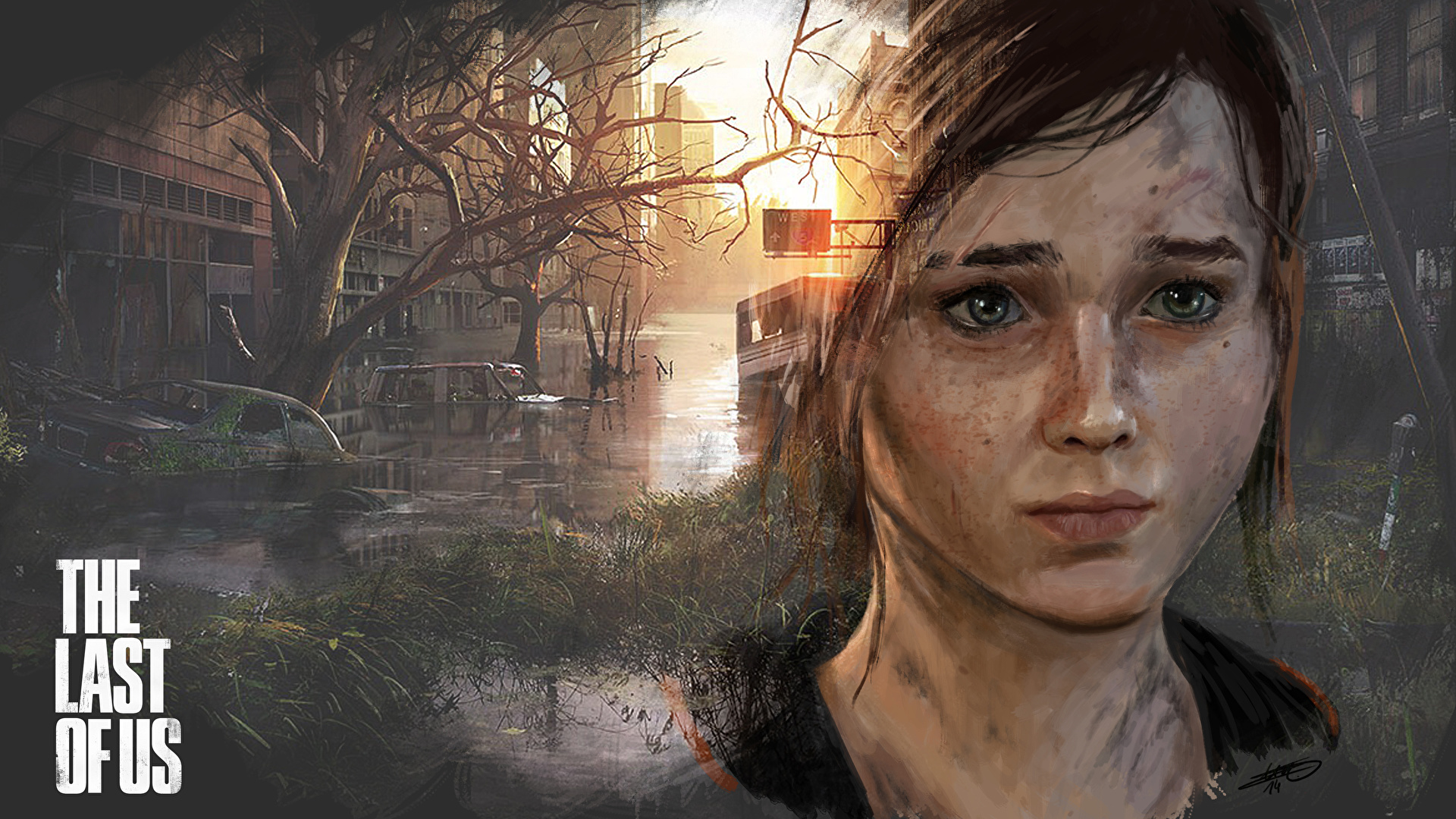 Fondos De Pantalla 1920x1080 The Last Of Us Ellie Cabello