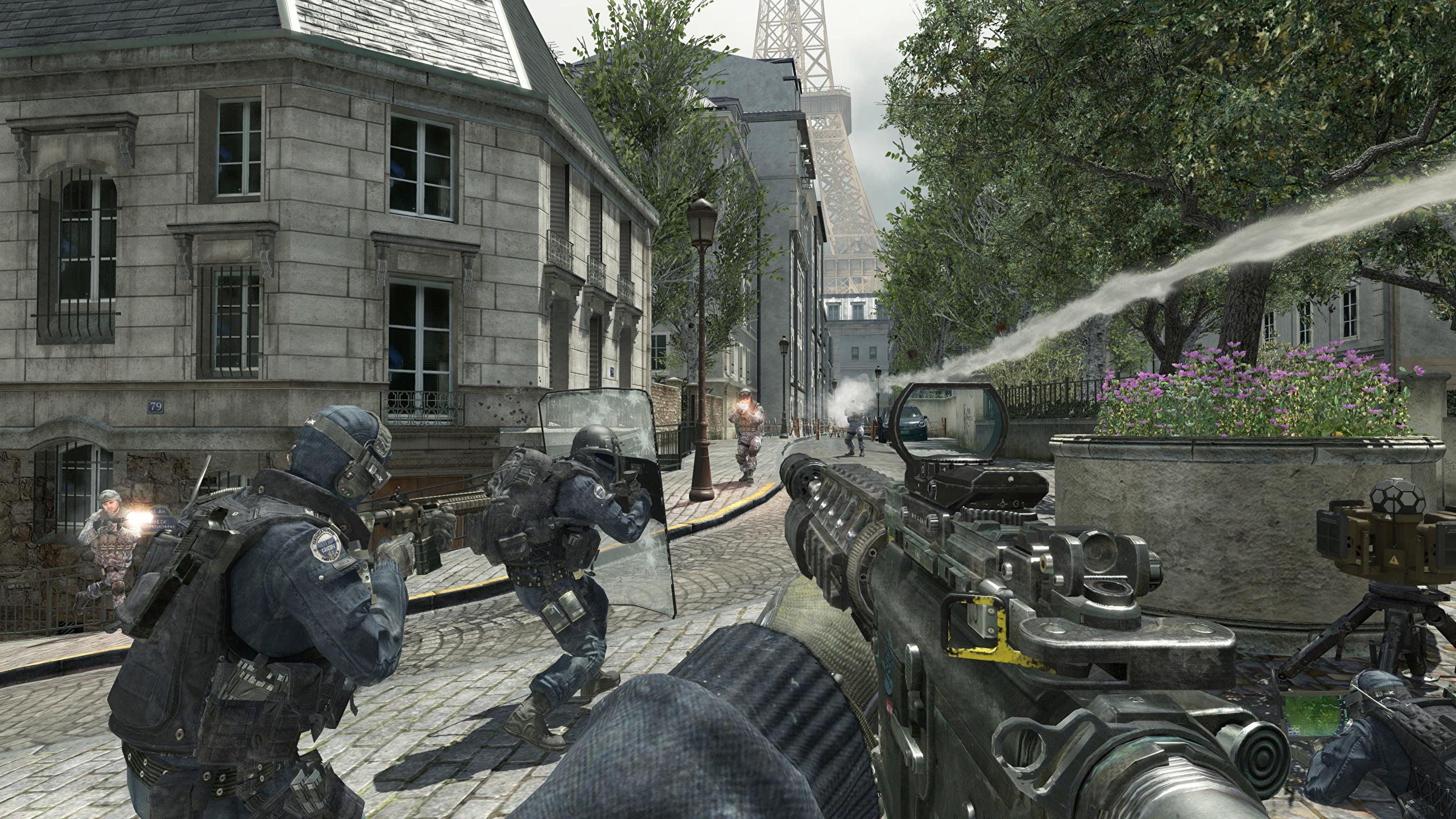 Wallpaper Call Of Duty Call Of Duty 4 Modern Warfare 2560x1440