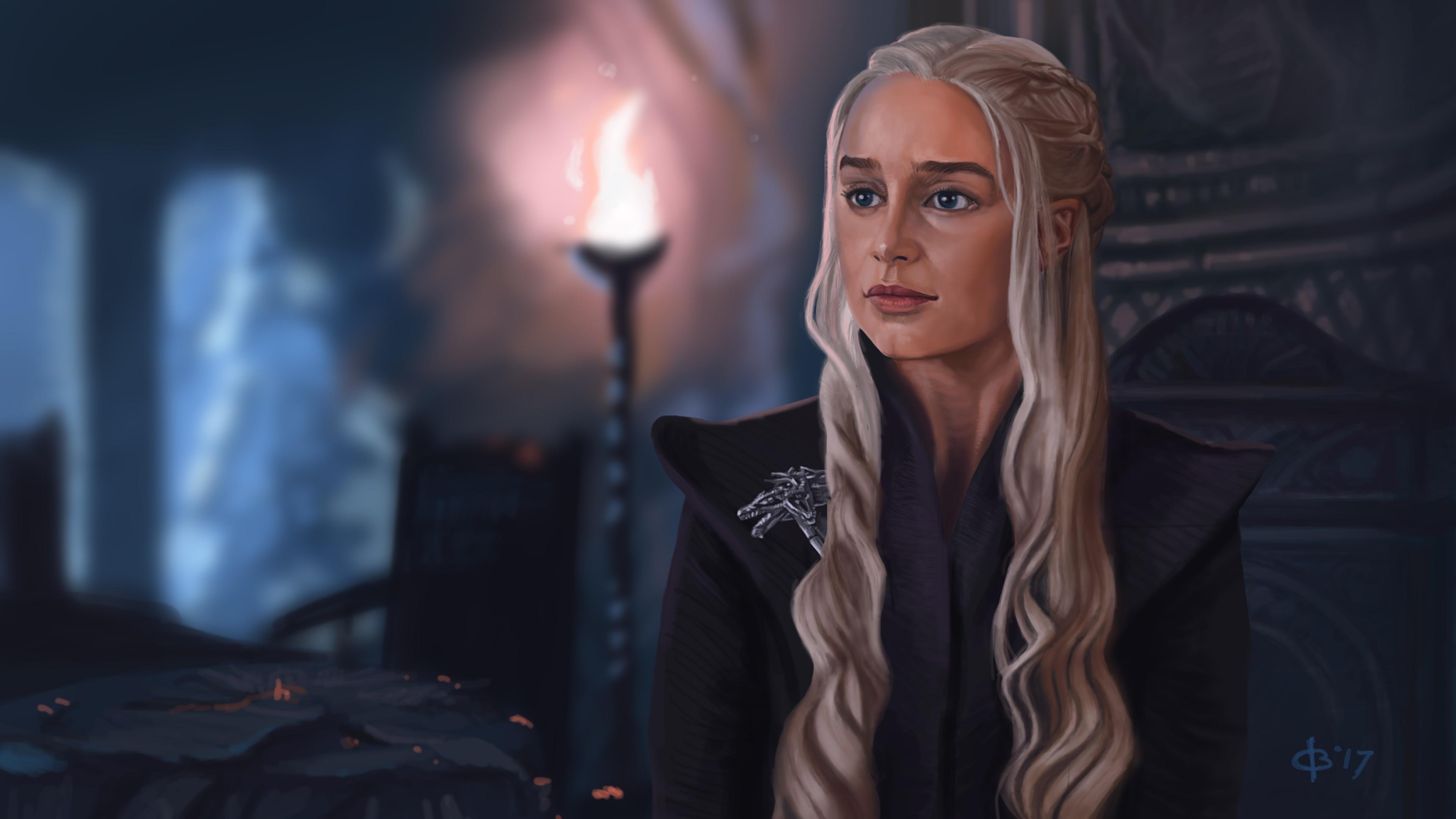 Desktop Wallpapers Game Of Thrones Daenerys Targaryen 3840x2160