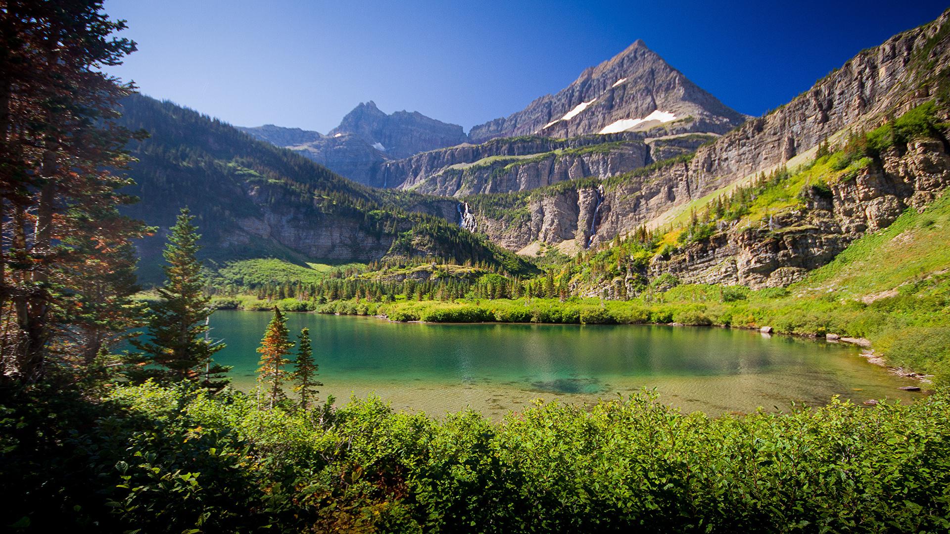 壁紙 19x1080 湖 山 風景写真 自然 ダウンロード 写真