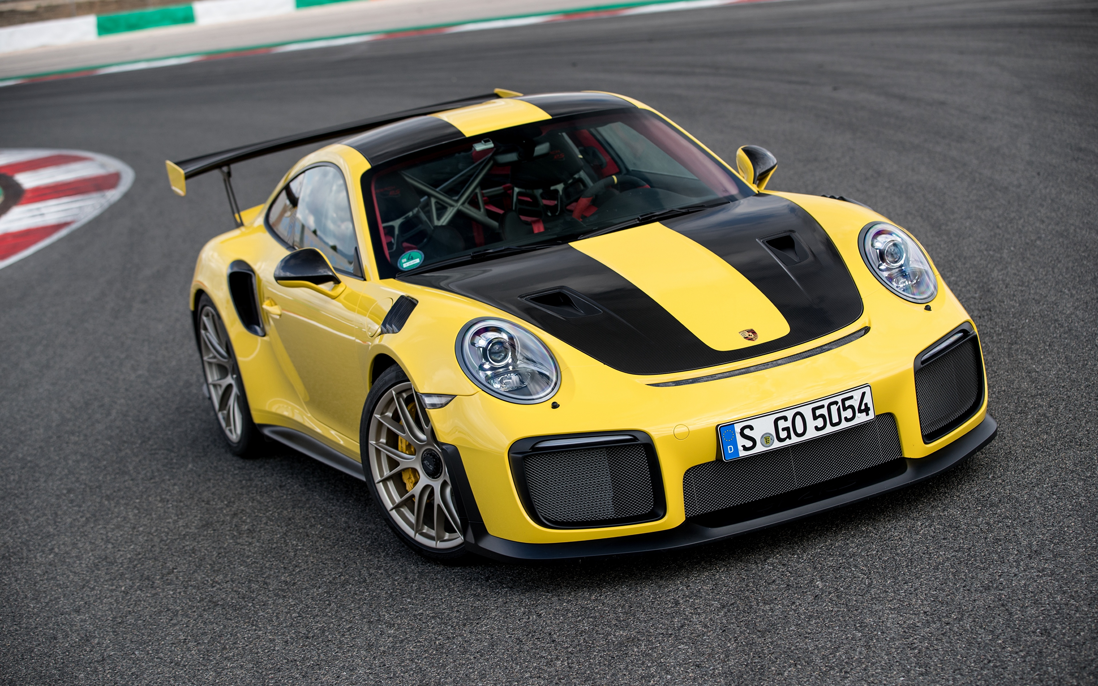 Fondos De Pantalla 3840x2400 Porsche 2017 18 911 Gt2 Rs