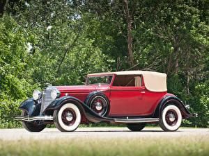 Hintergrundbilder Lincoln Roadster KA Roadster by Dietrich 1933