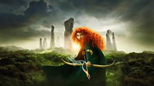Hintergrundbilder Merida – Legende der Highlands Animationsfilm