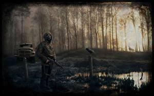 Hintergrundbilder STALKER Sumpf Spiele