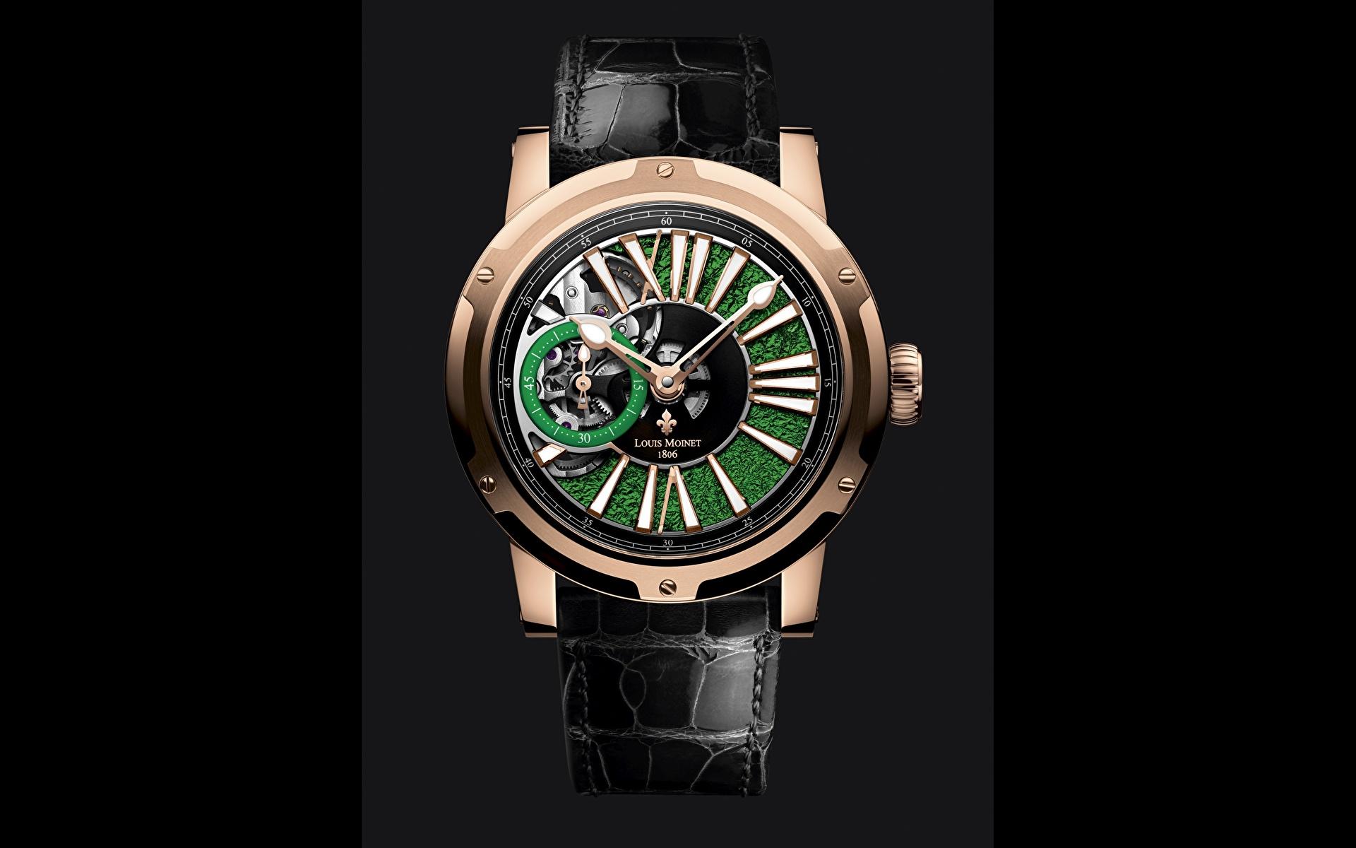 Images Metropolis, Louis Moinet Watch Clock 1920x1200