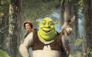 Hintergrundbilder Shrek – Der tollkühne Held Zeichentrickfilm