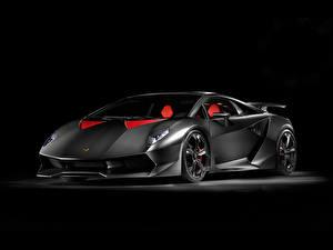 Bilder Lamborghini Luxus The Dark Knight - Sesto Elemento automobil