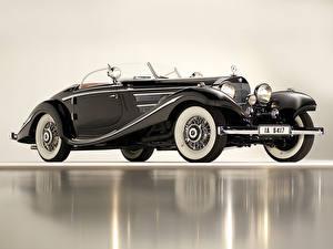 Hintergrundbilder Mercedes-Benz Roadster 1936 540K Special Roadster