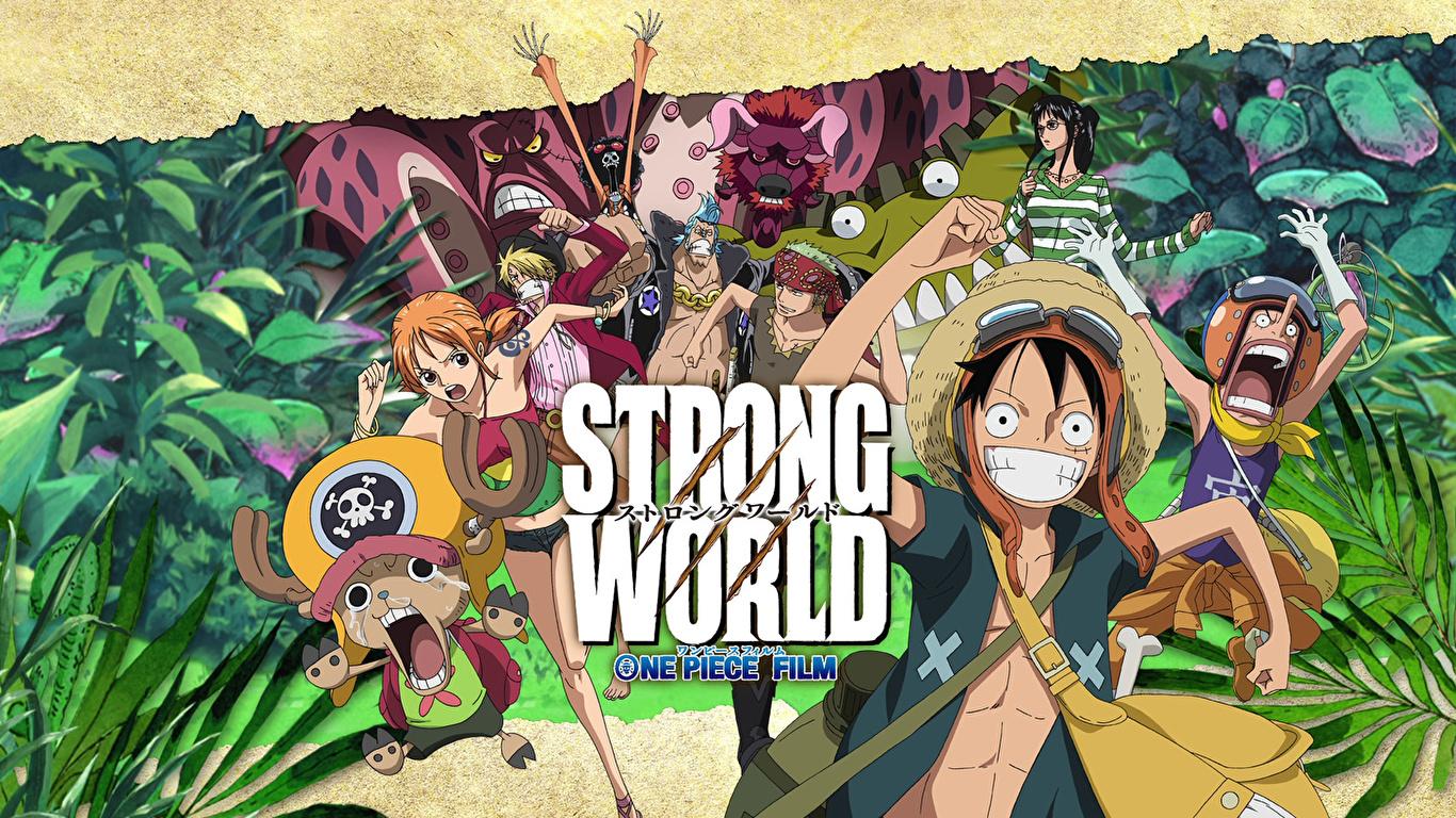 Desktop Wallpapers One Piece Anime 1366x768
