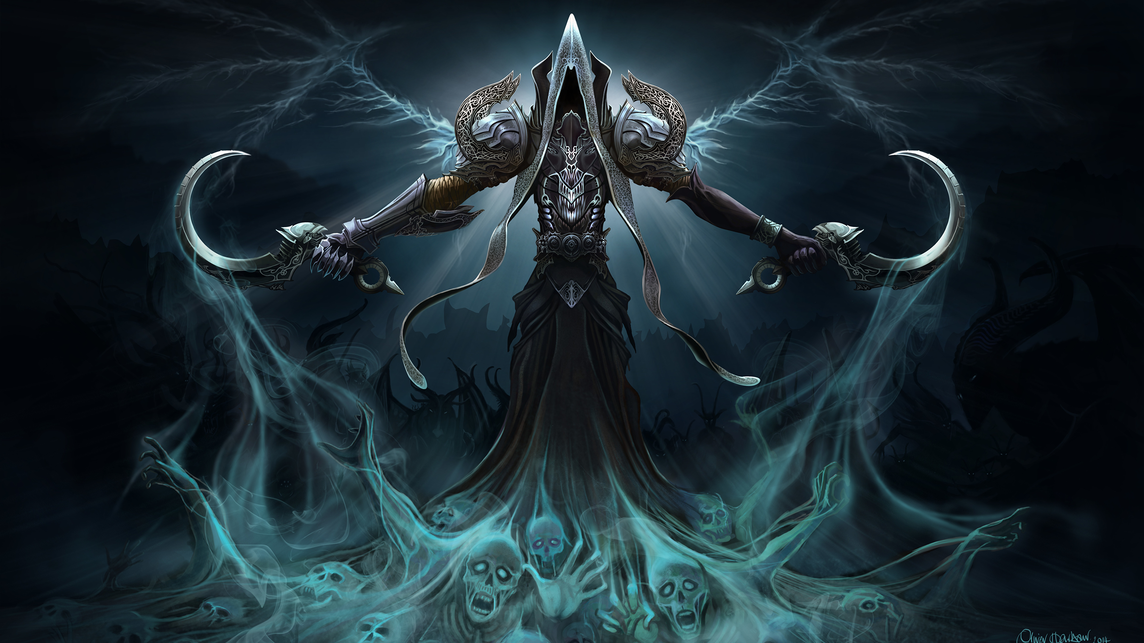 Papeis de parede Magia Demônios Batalha Heroes of the