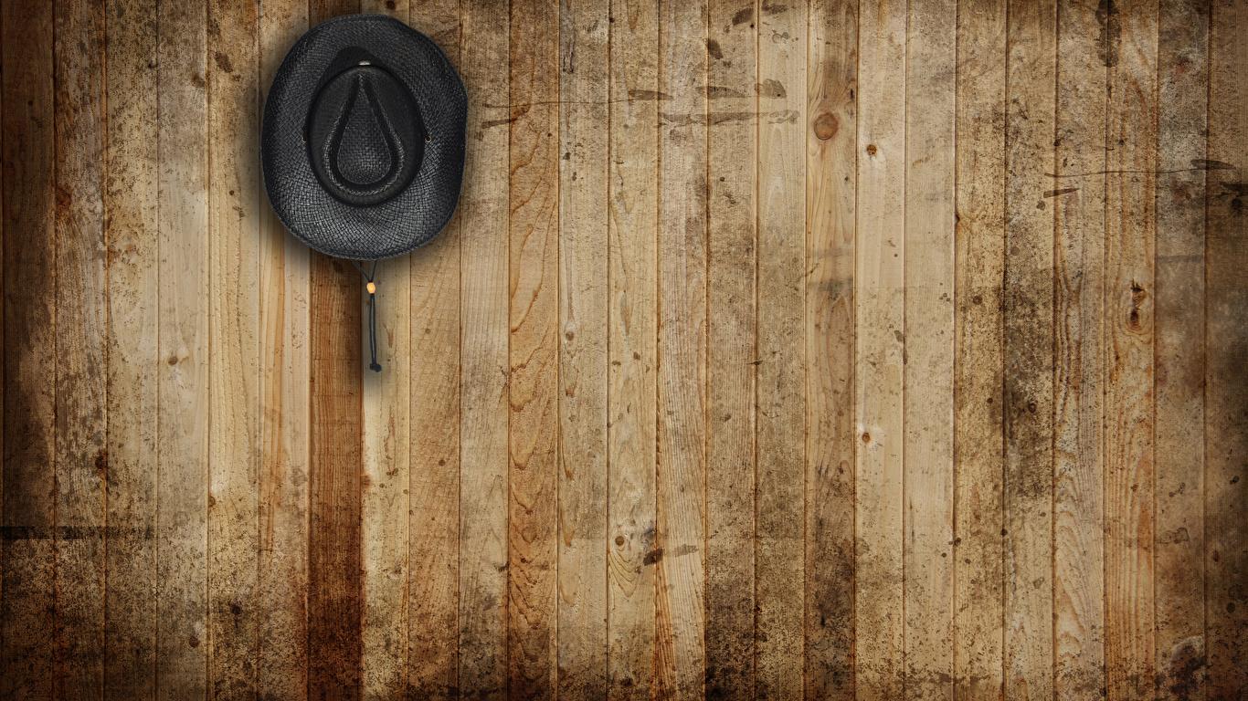 壁紙 1366x768 テクスチャー 帽子 壁 木の板 ダウンロード 写真