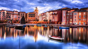 Hintergrundbilder Vereinigte Staaten Küste Boot Florida HDR Orlando Städte