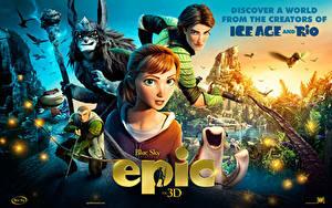 Fotos Epic – Verborgenes Königreich 3D-Grafik Mädchens