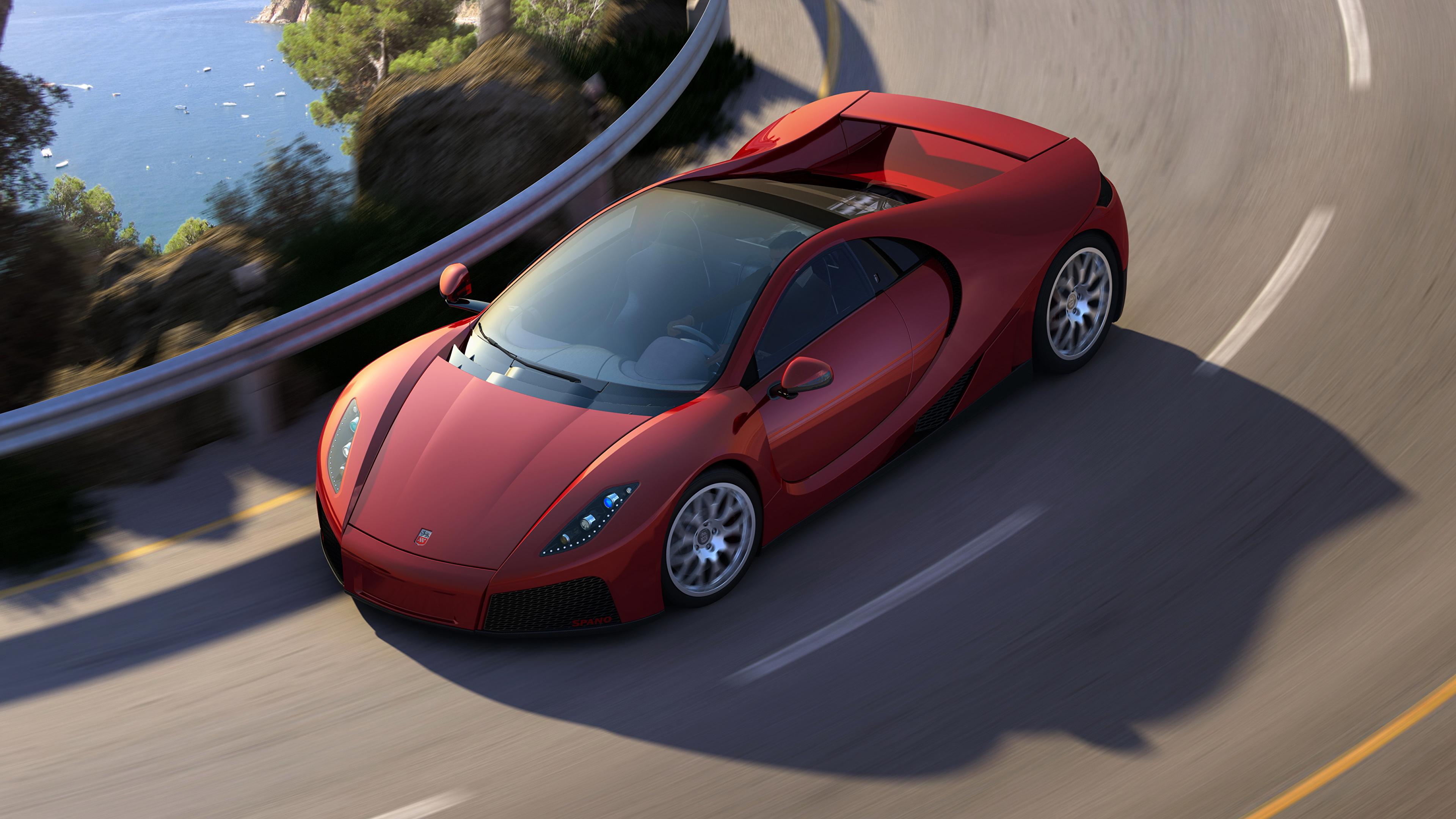 Fonds D Ecran 3840x2160 Gta Spano Routes 2012 Rouge Luxe
