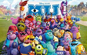 Bilder Die Monster Uni Disney 3D-Grafik