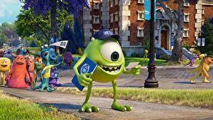 Hintergrundbilder Die Monster Uni Augen Animationsfilm 3D-Grafik