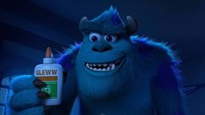 Fotos Die Monsters Uni Monsters Hellblau Zähne 3D-Grafik