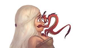 Hintergrundbilder Magische Tiere Blond Mädchen Zeichentrickfilm Mädchens