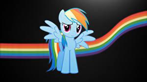 Hintergrundbilder My Little Pony Vektorgrafik Regenbogen