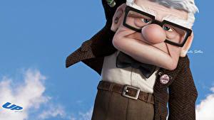 Bilder Oben Mann Brille Gesicht Schleife Animationsfilm 3D-Grafik