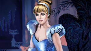 Hintergrundbilder Disney Aschenputtel Mädchens