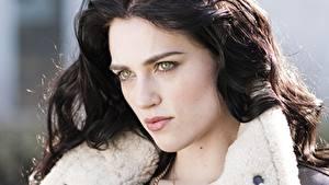 Bilder Katie McGrath Starren Gesicht Brünette Haar Prominente Mädchens