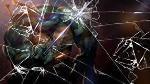 Fotos Teenage Mutant Ninja Turtles Krieger Ninja Ninja Turtles broken glass Animationsfilm Fantasy