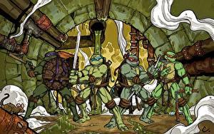 Papéis de parede Teenage Mutant Ninja Turtles Guerreiro Fantasia