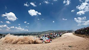 Fotos Citroen Himmel Wolke Autos Sport
