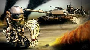 Bilder My Little Pony Soldaten Panzer Animationsfilm Heer
