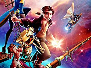 Bilder Disney Kerl Treasure Planet Kosmos