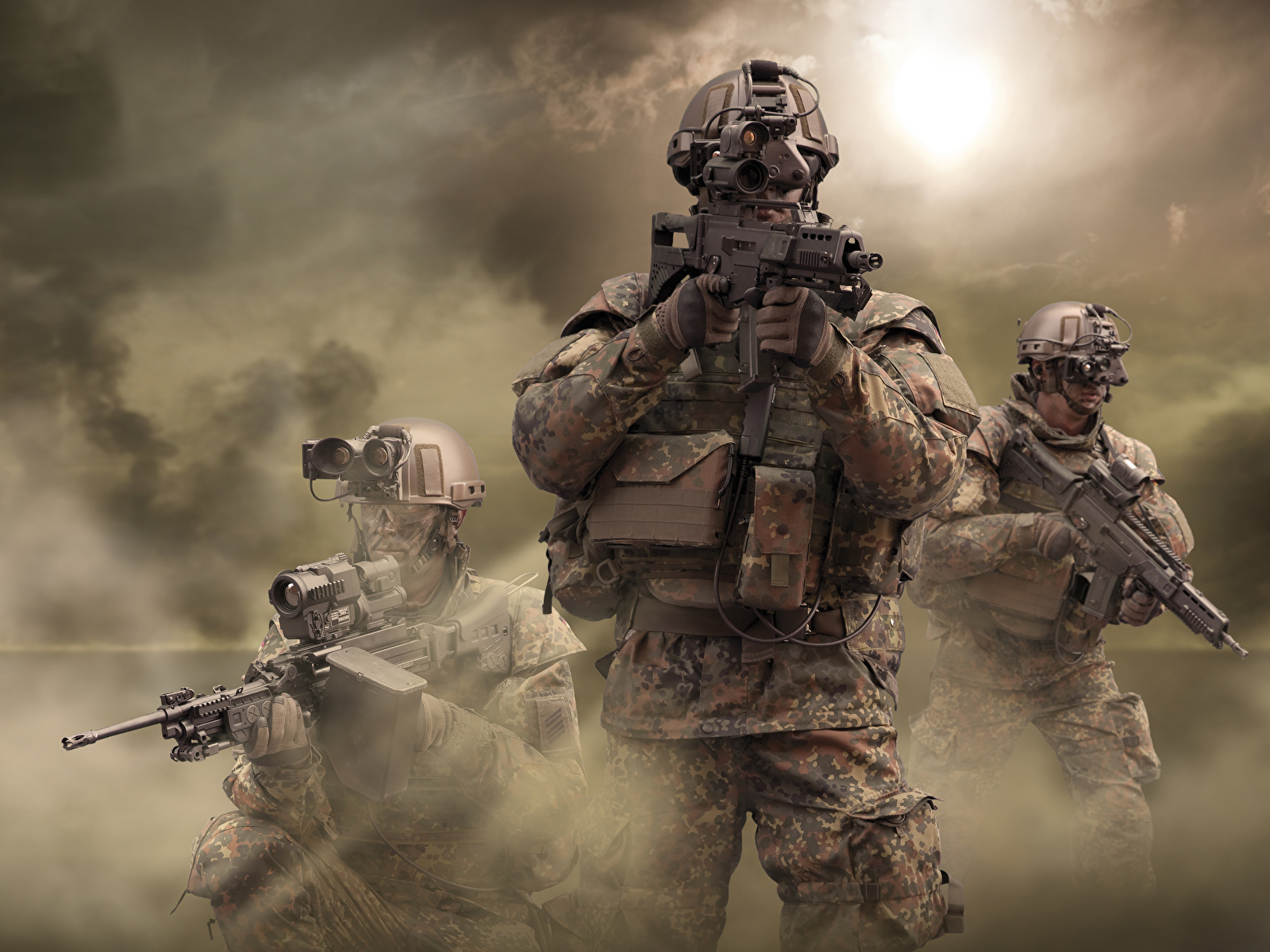 Photo Soldier German Army 1600x1200