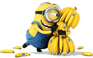Papéis de parede Despicable Me 2 Bananas Lunettes 3D_Gráfica