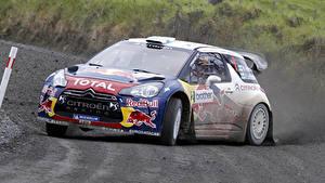 Hintergrundbilder Citroen DS3 Autos Sport