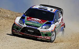 Hintergrundbilder Ford Vorne Fiesta Autos Sport